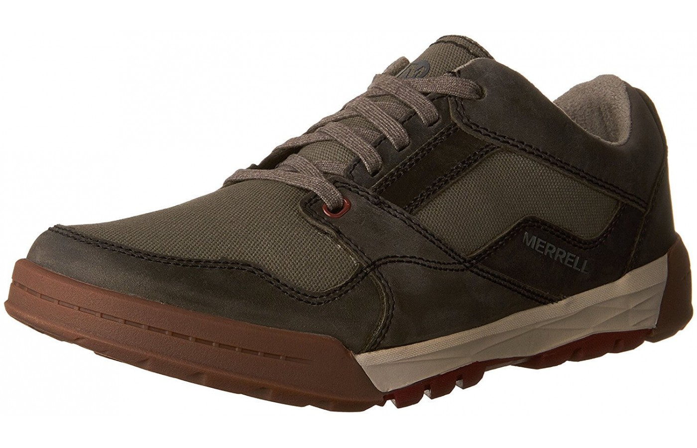 The Merrell Berner Shift Lace features an M Select Move midsole design