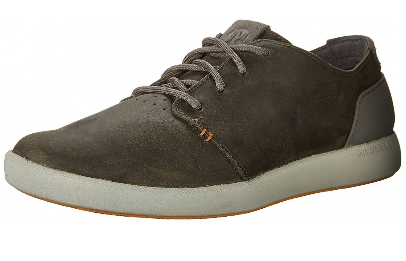 The Merrell Freewheel Lace features a suede upper