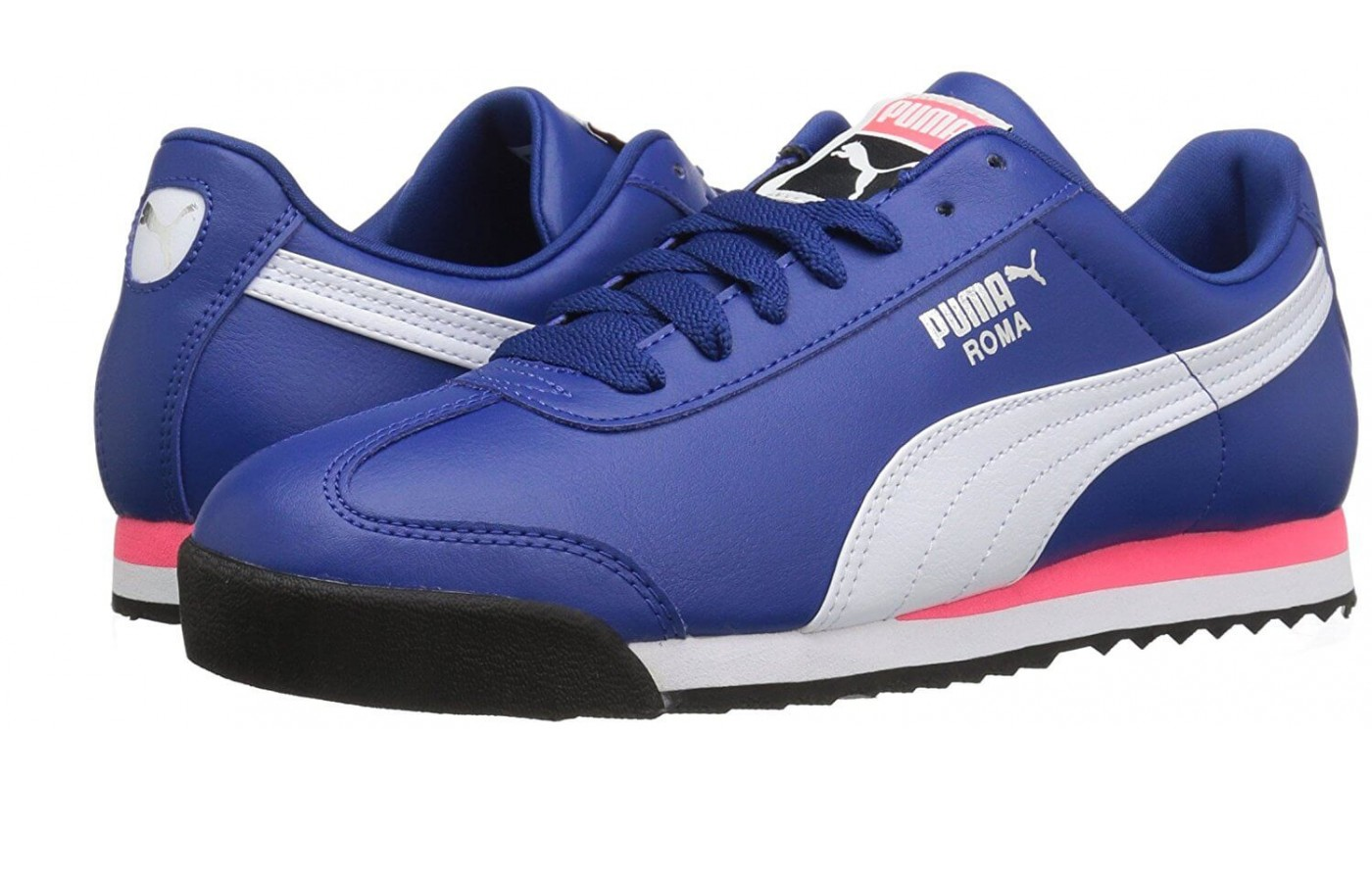 The Puma Roma features midfoot arch support