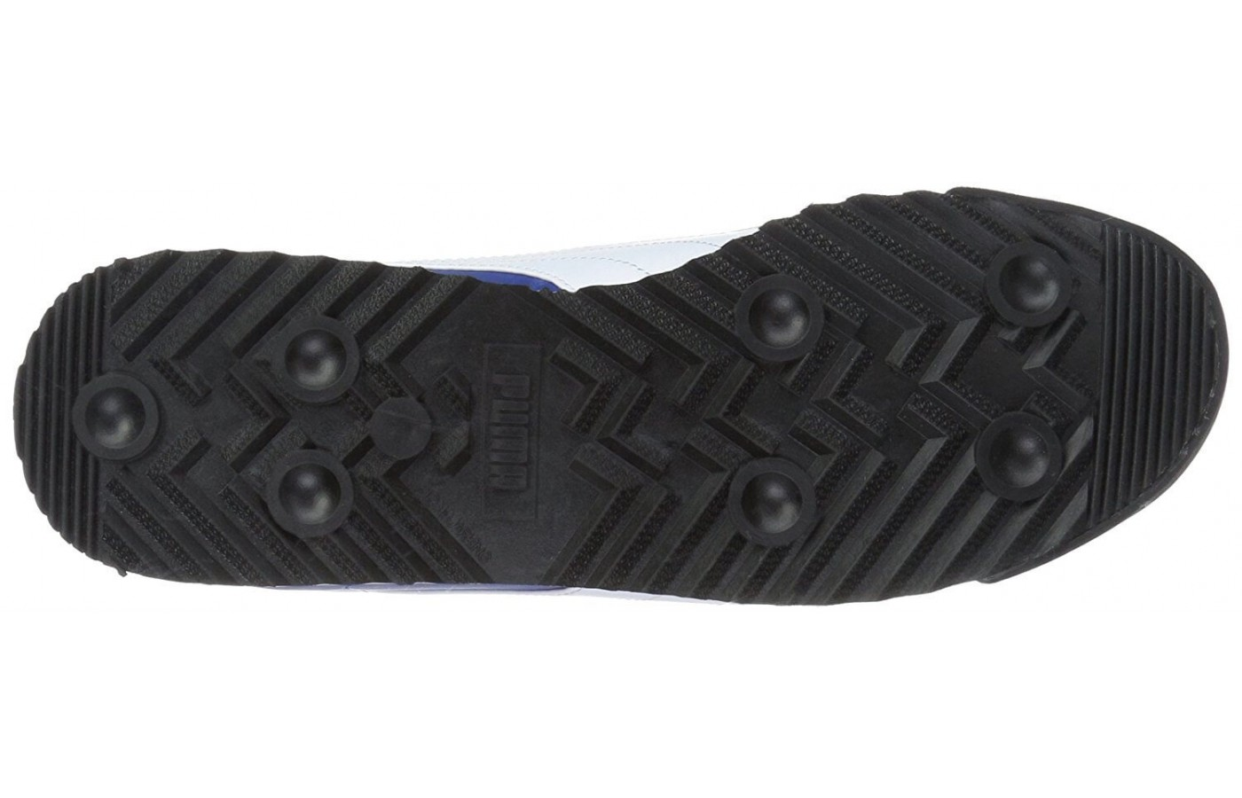 The Puma Roma has a rubber outsole
