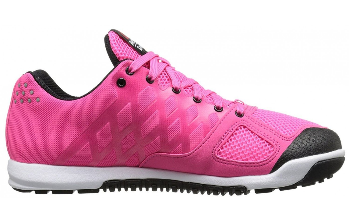 The Reebok CrossFit Nano 2.0 features a 3D Fuse Frame for support