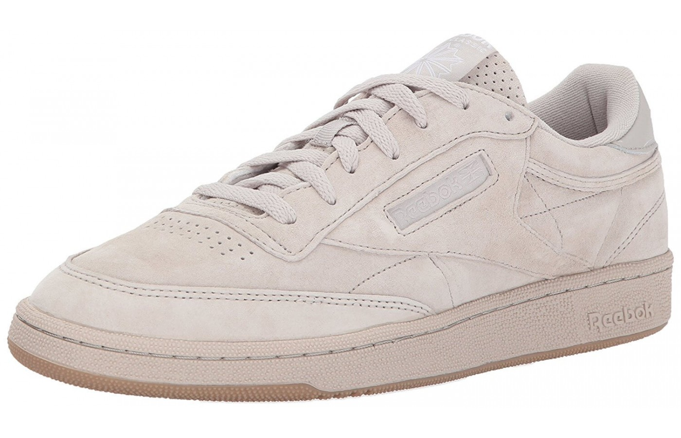 835030fd1f9 The Reebok Club C 85 features Reebok s classic union jack logo ...