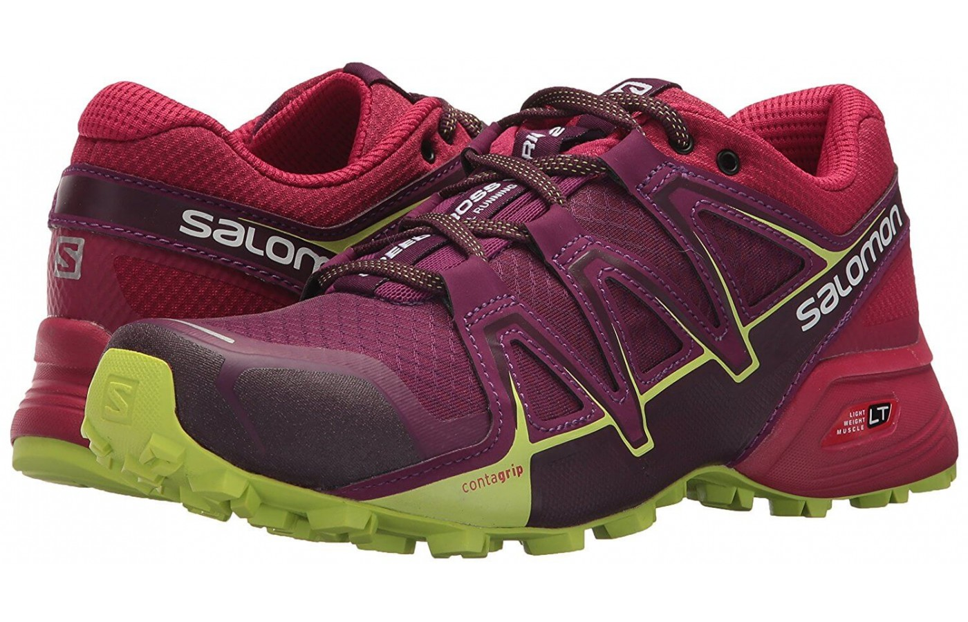 The Salomon Speedcross Vario 2 has an EVA midsole