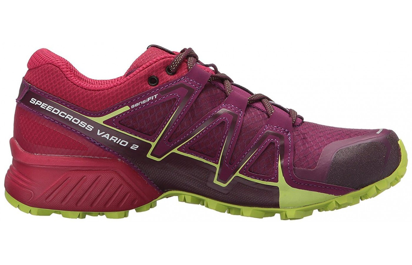 The Salomon Speedcross Vario 2 has a Sensifit upper