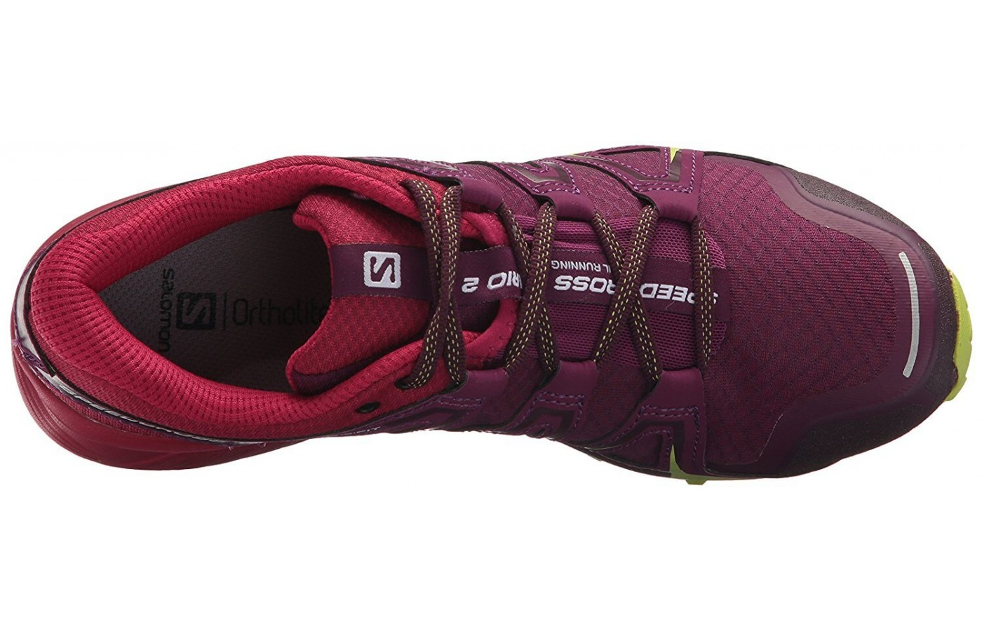 The Salomon Speedcross Vario 2 has an Ortholite sock liner
