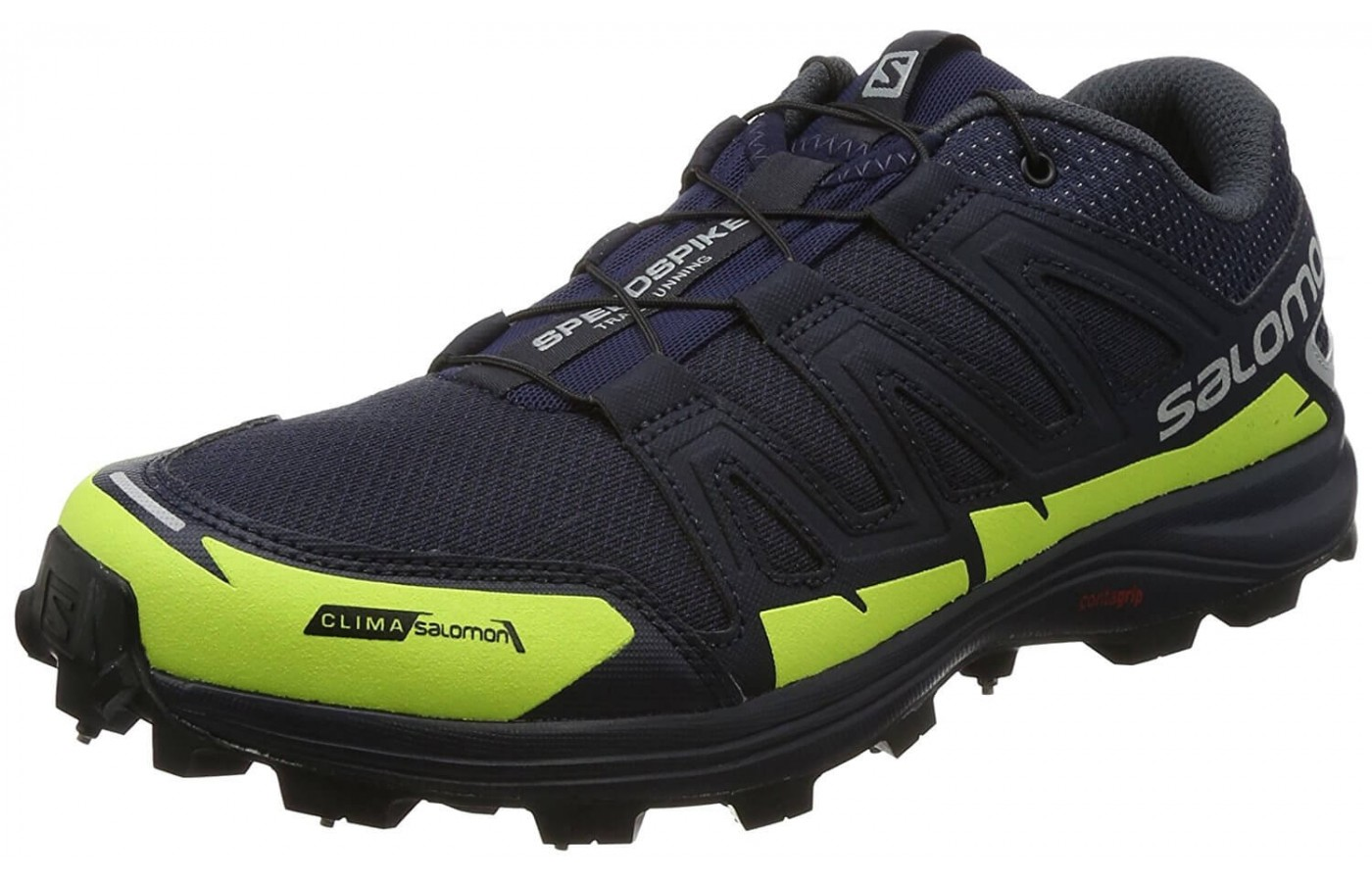 The Salomon Speedspike CS has an EVA midsole