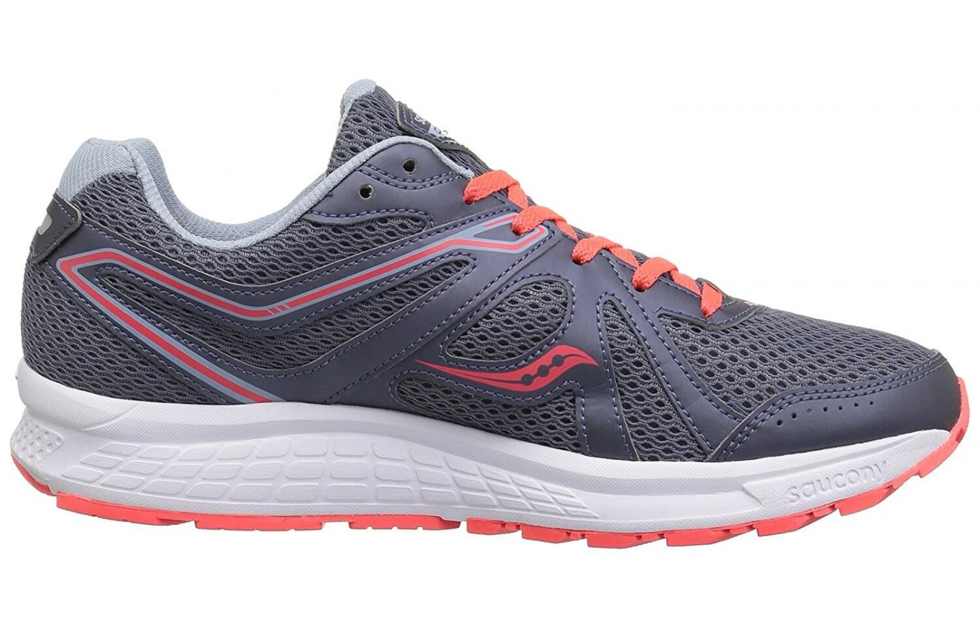 The Saucony Cohesion 11 has a mesh upper