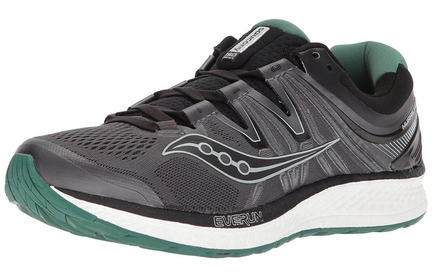 The Saucony Hurricane ISO 4 has an 8mm drop height