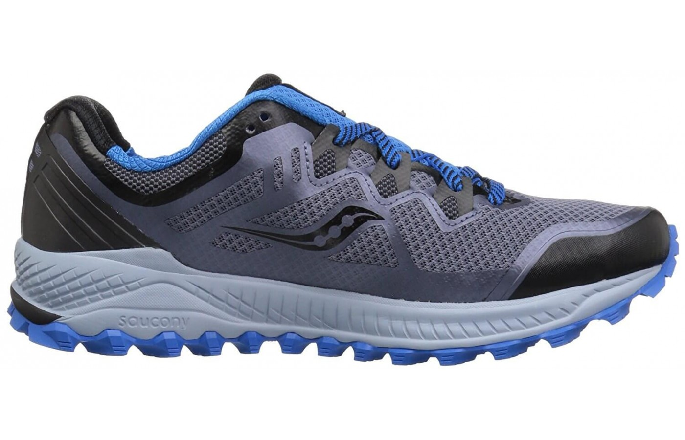 The Saucony Peregrine 8 has 6mm lugs