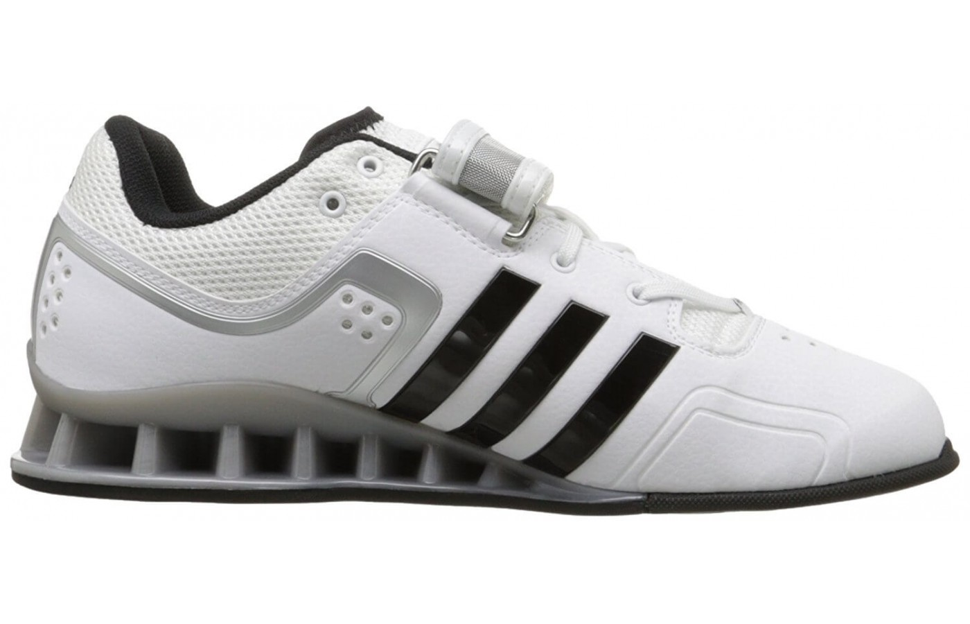 93bed18f0b26 Adidas utilizes a weightlifting specific chassis in their design.