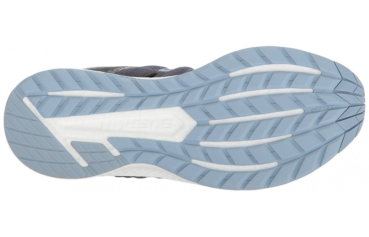 The redesigned TRI-FLEX outsole adds flexibility