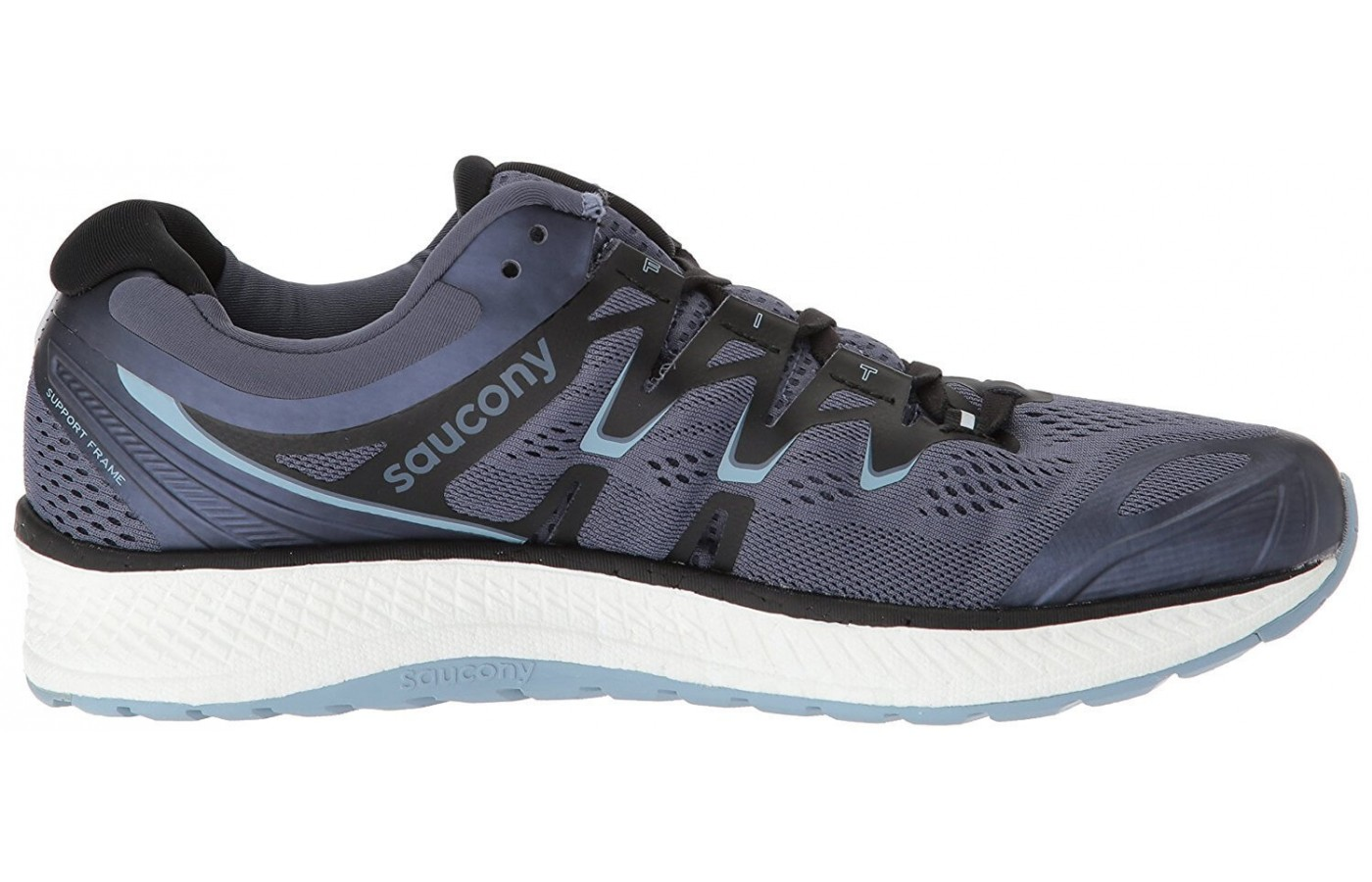The Saucony Triump ISO 4 is best suited for runners who like plush cushioning.
