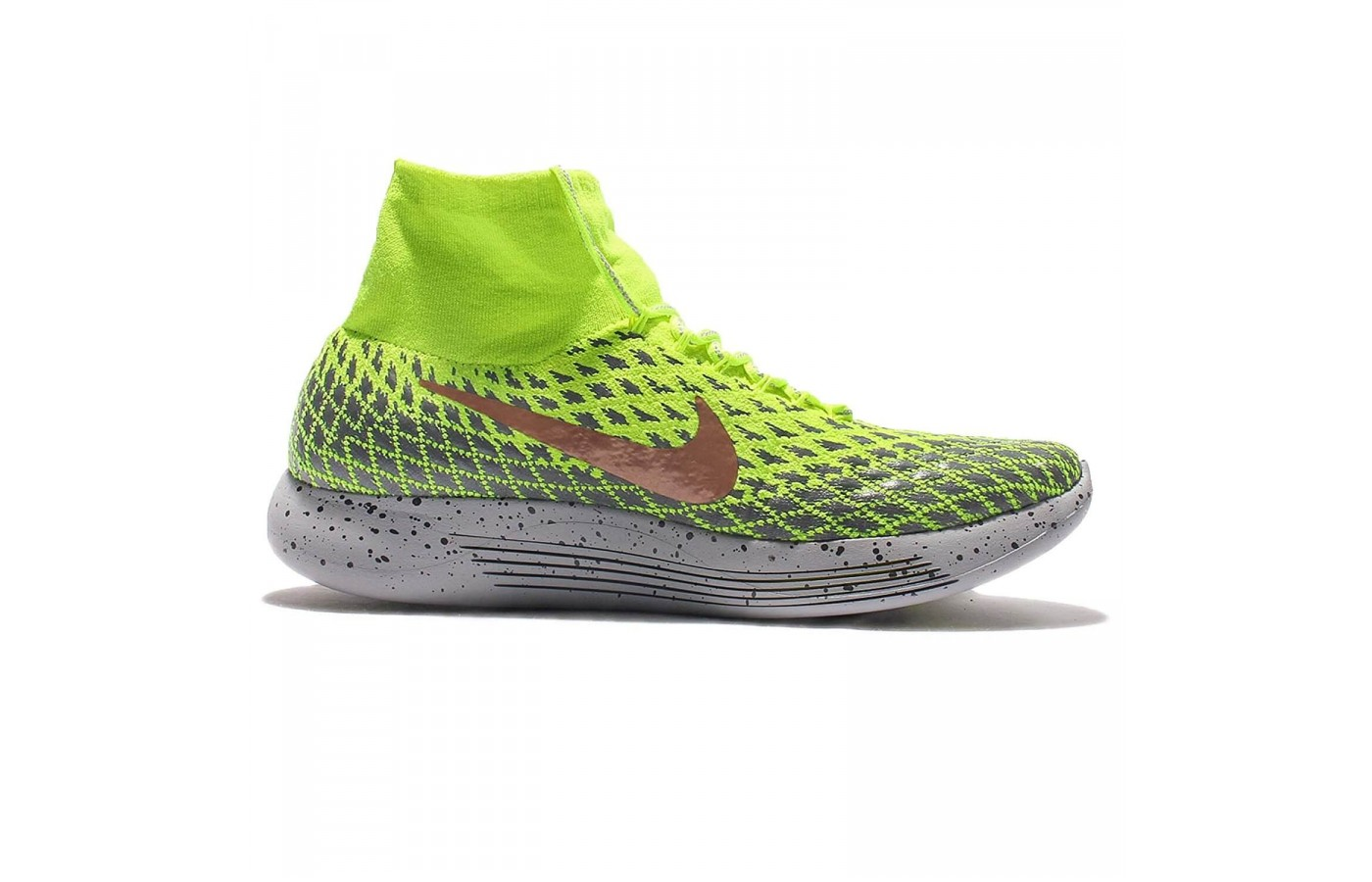 Medial view of Nike LunarEpic FlyKnit Shield