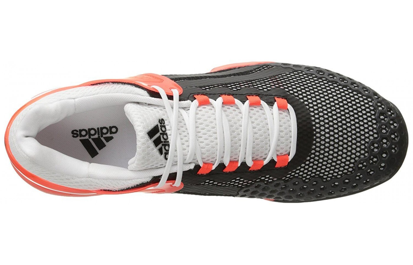 Additional protective features have been added to the Adidas Adizero  Ubersonic s upper. 77efe7375