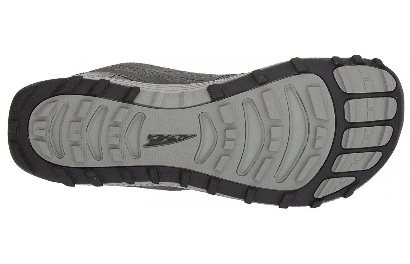 The outsole of the Altra Superior 3.5 uses a TrailClaw design to grip the ground like a bear's paw.