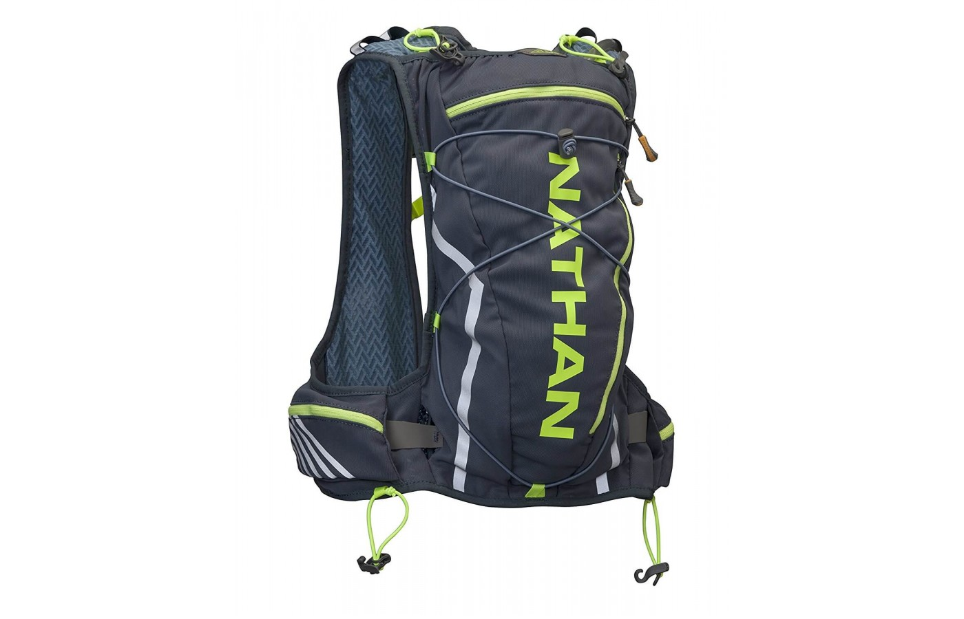 The Nathan Vaporcloud is a small water vest that can hold a surprising amount of water.