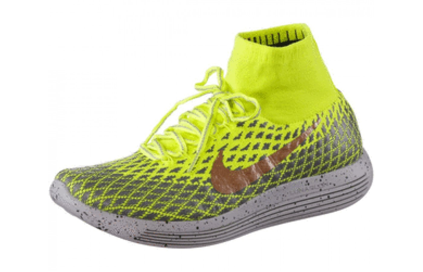 f03343ab0fc Side Angled view of the Nike LunarEpic FlyKnit Shield ...