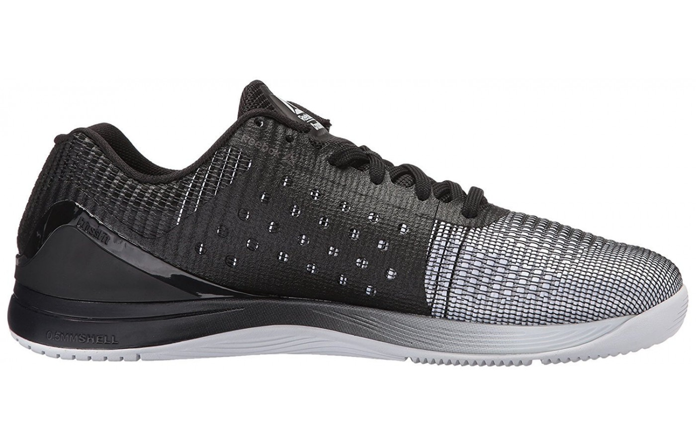 3fa0ab736c58 ... Compressed EVA midsole material ensures that the Reebok Crossfit Nano 7  Weave is somewhat supportive.