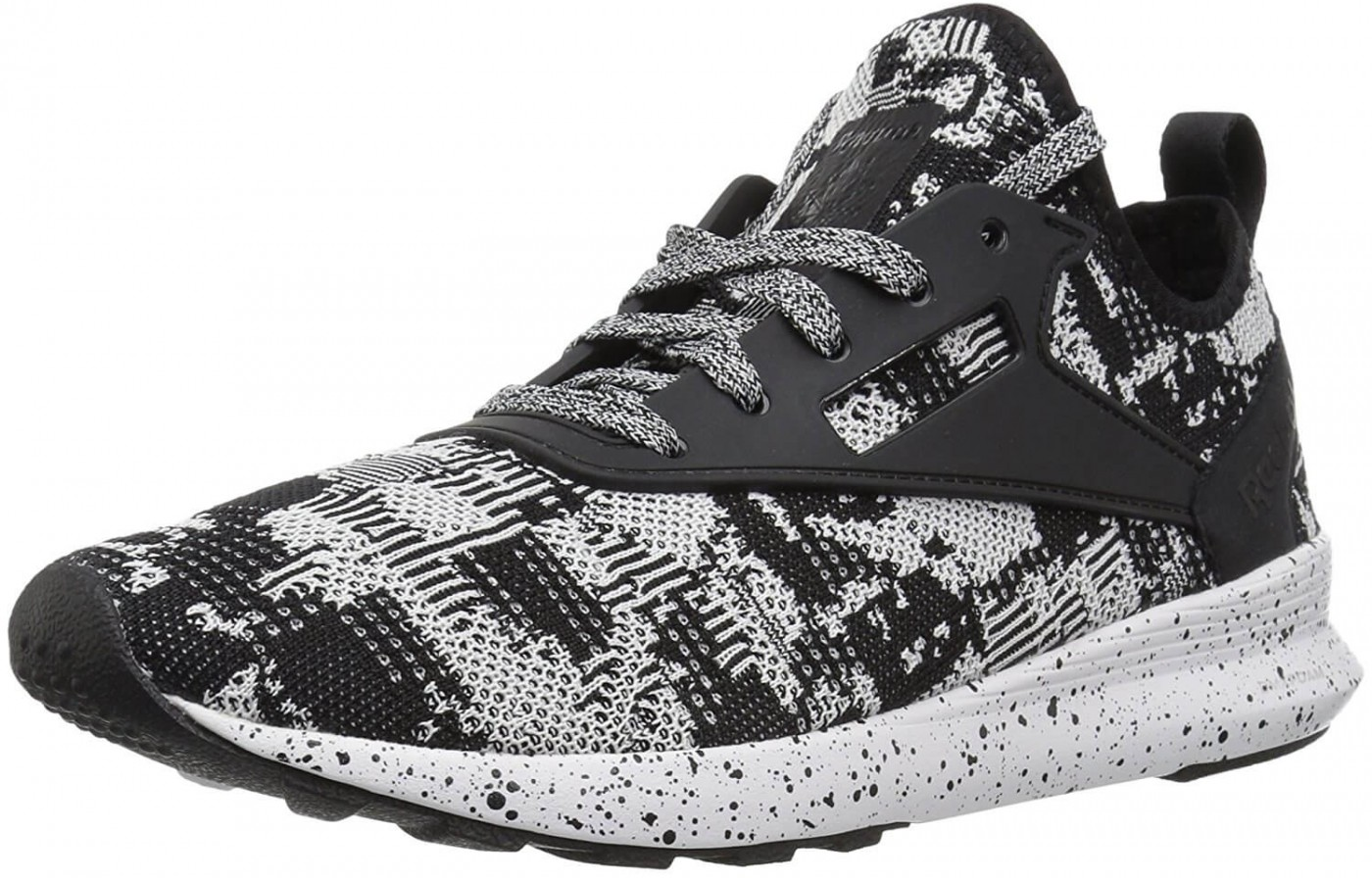 The Reebok Zoku Runner is the manufacturer's take on the popular knit fabric style of running shoe.