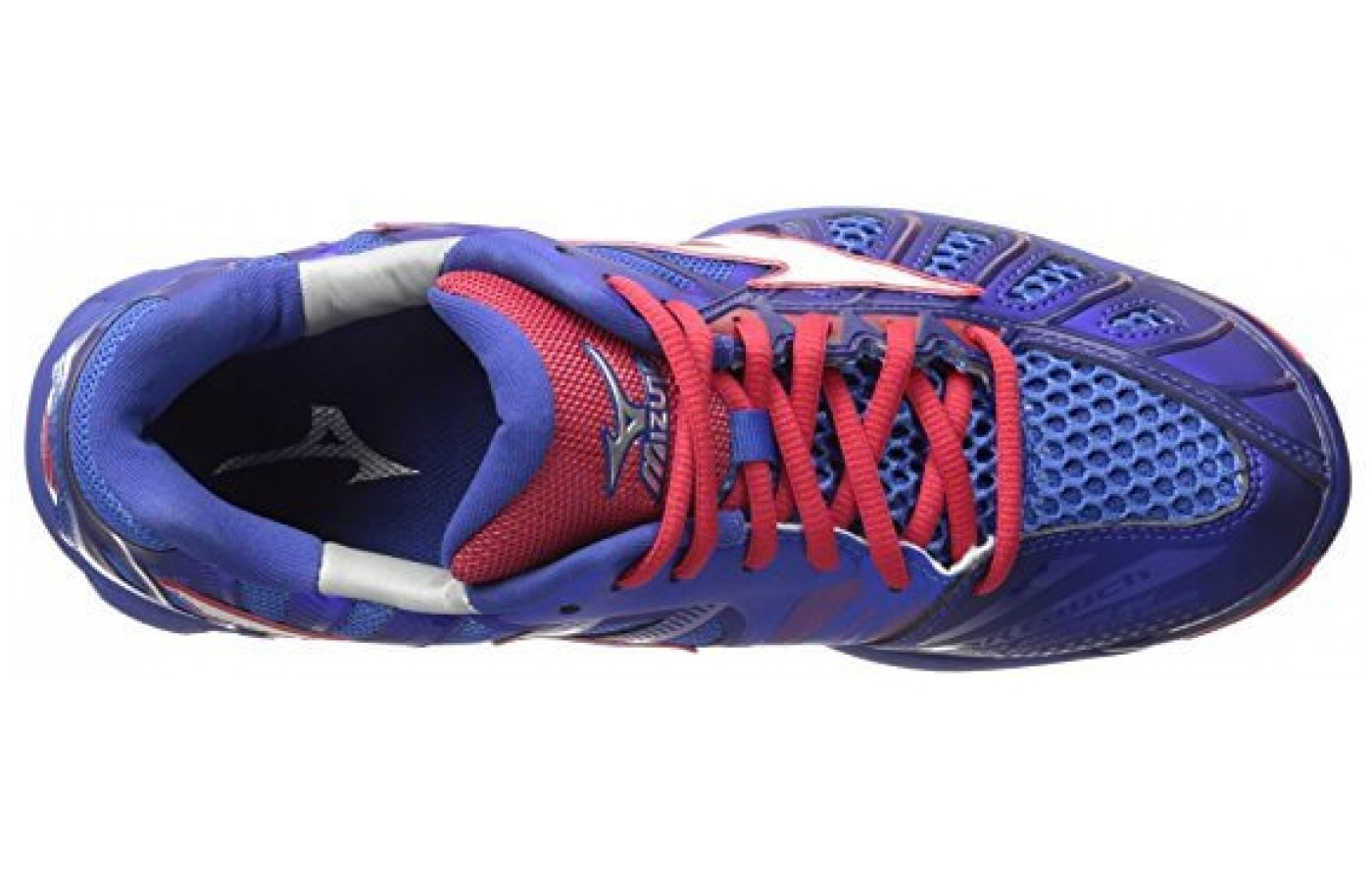The mizuno wave tornado x is made with air mesh for breathability