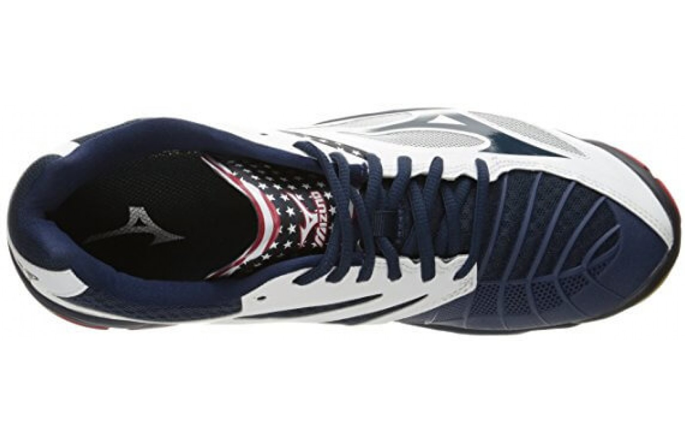 The Mizuno Wave Lightning Z3 features a Dura Shield on the outsole