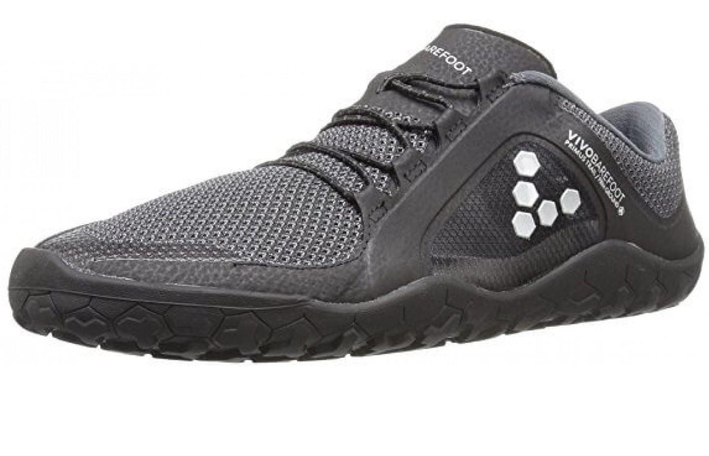 The Vivobarefoot Primus Trail FG is made with a breathable mesh to keep your foot cool