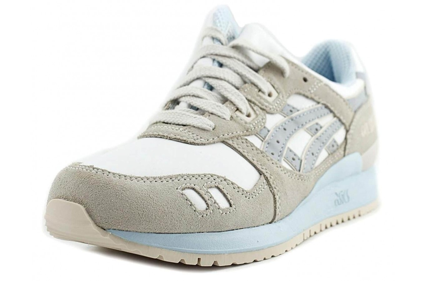 The Asics Gel Lyte III features GEL cushioning