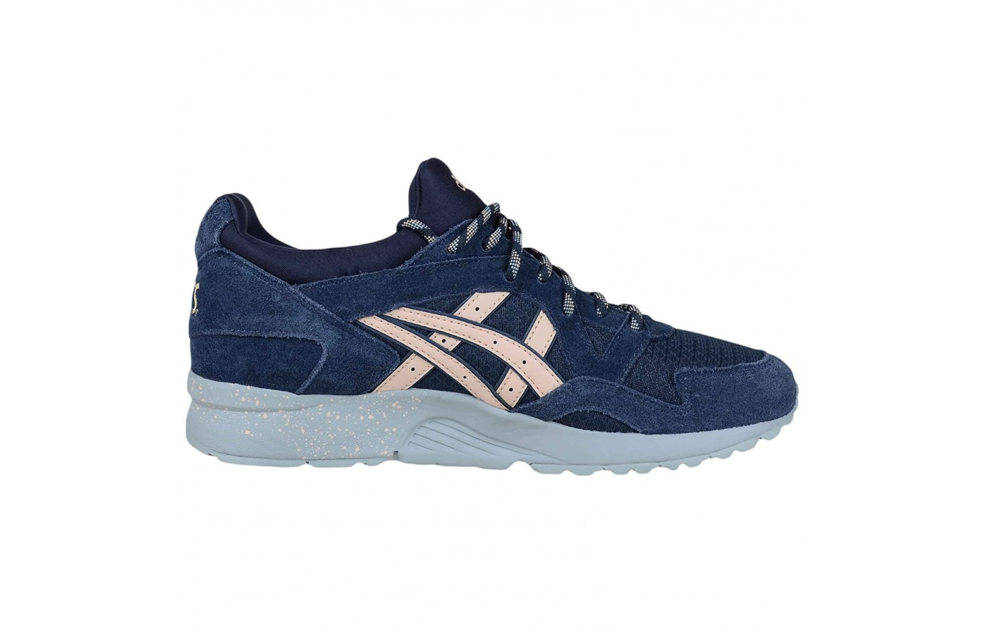 The Asics Gel Lyte V comes in a variety of upper materials