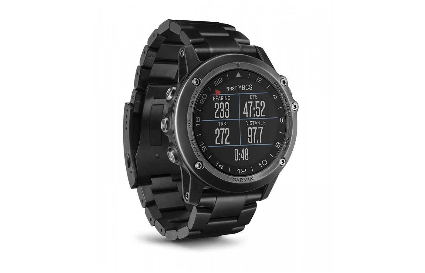 The Garmin D2 Bravo is GPS enabled