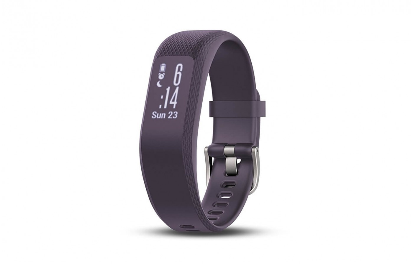 The Garmin Vivosmart 3 can track stress levels using heart rate variability