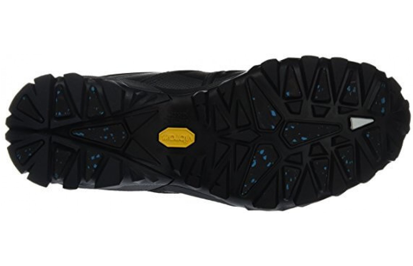 The Merrell Capra Glacial Ice grippy sole for winter terrain
