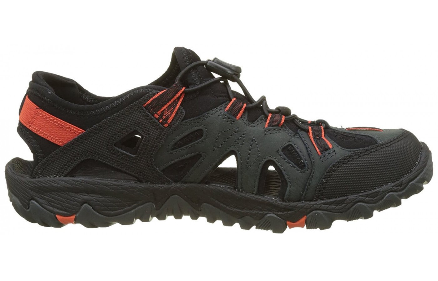 The Merrell All Out Blaze Sieve includes a UniFly midsole for comfort and protection out on the trails.