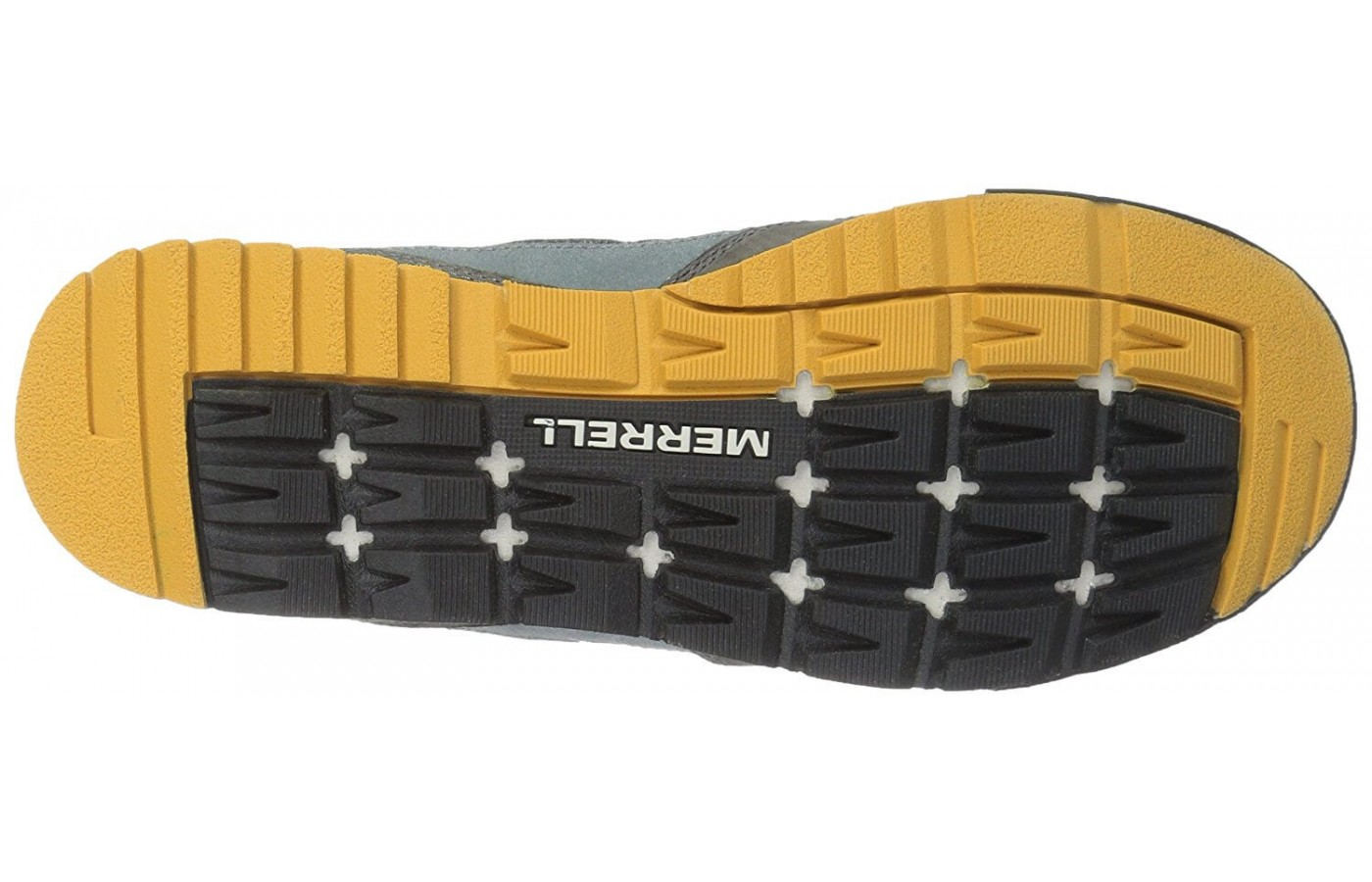 The Merrell Burnt Rock has an M Select Grip outsole