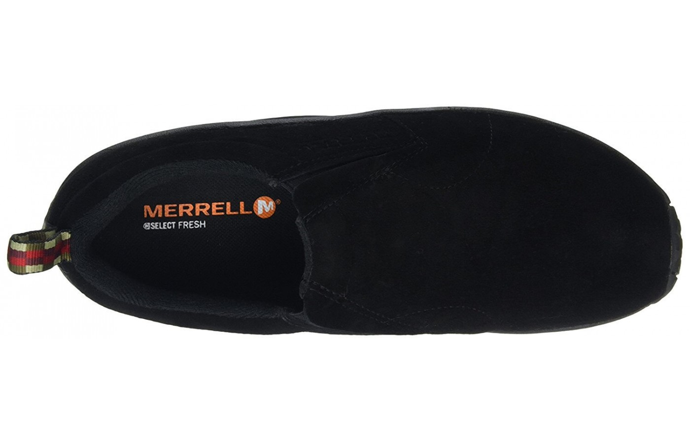 The Merrell Jungle Moc features an Aegis anti bacterial lining