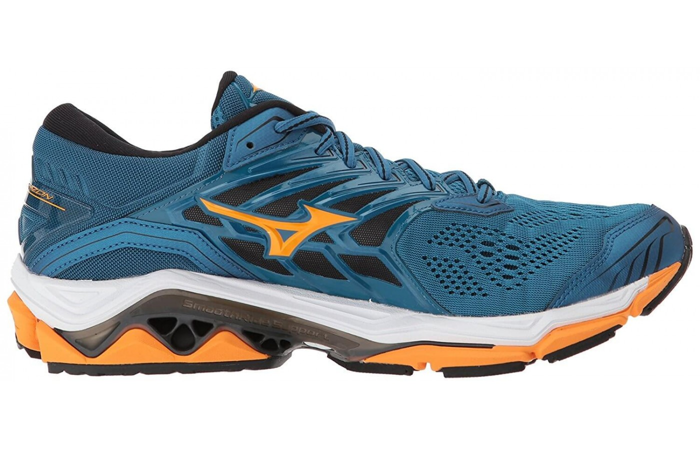 The Mizuno Wave Horizon 2 features Cloudwave technology