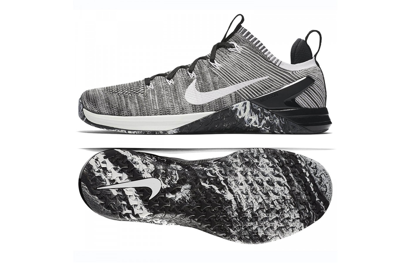the latest f4970 aeb4b ... The Nike Metcon DSX Flyknit 2 has a higher drop from heel to toe  compared to ...