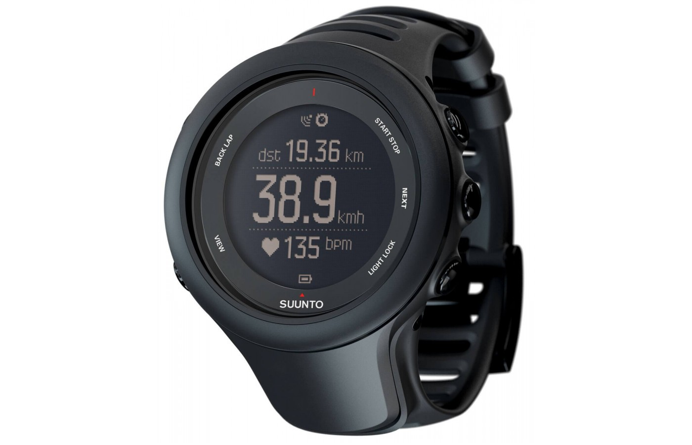 The Suunto Ambit3 Sport features Bluetooth Smart connectivity