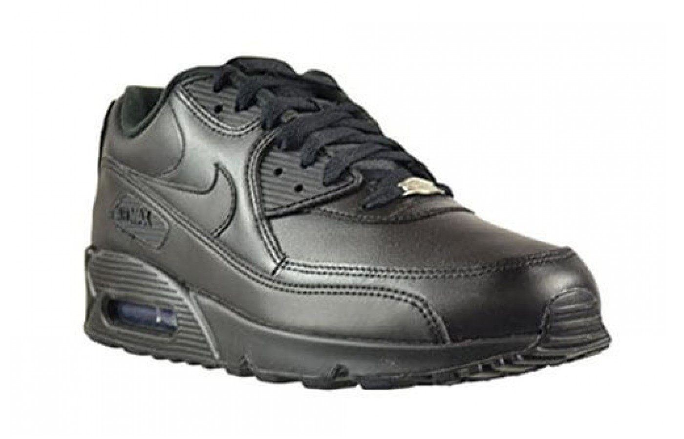 nike air max schwarz leather
