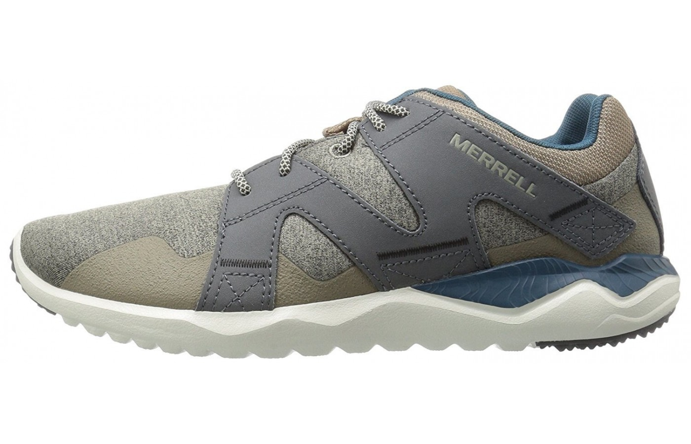 The medial side of the Merrell 1six8 Lace.