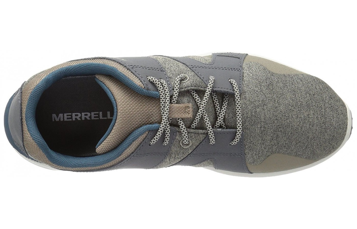 The upper half of the Merrell 1six8 Lace.