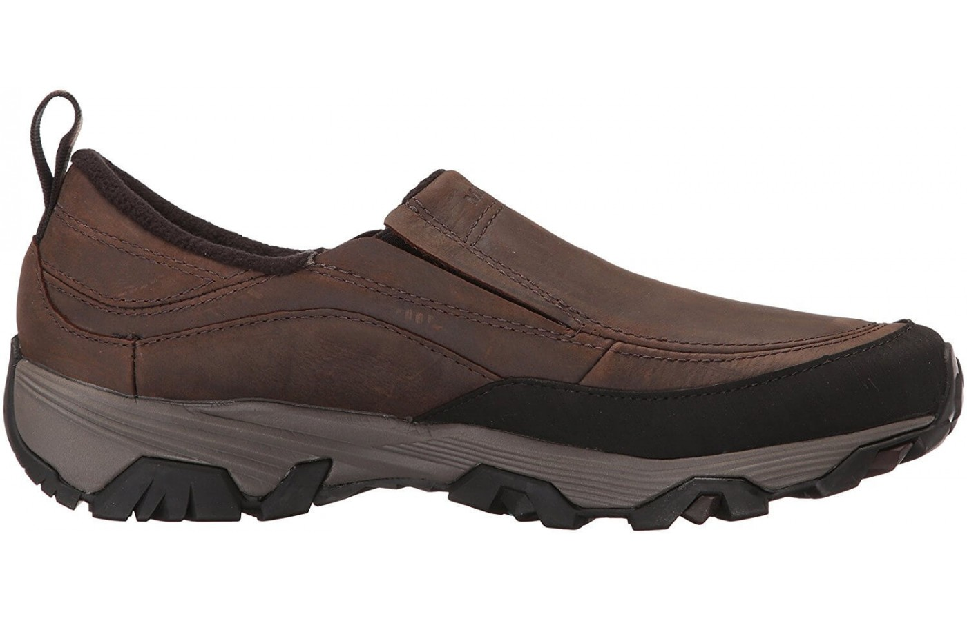 A lateral view of the Merrell ColdPack Ice.