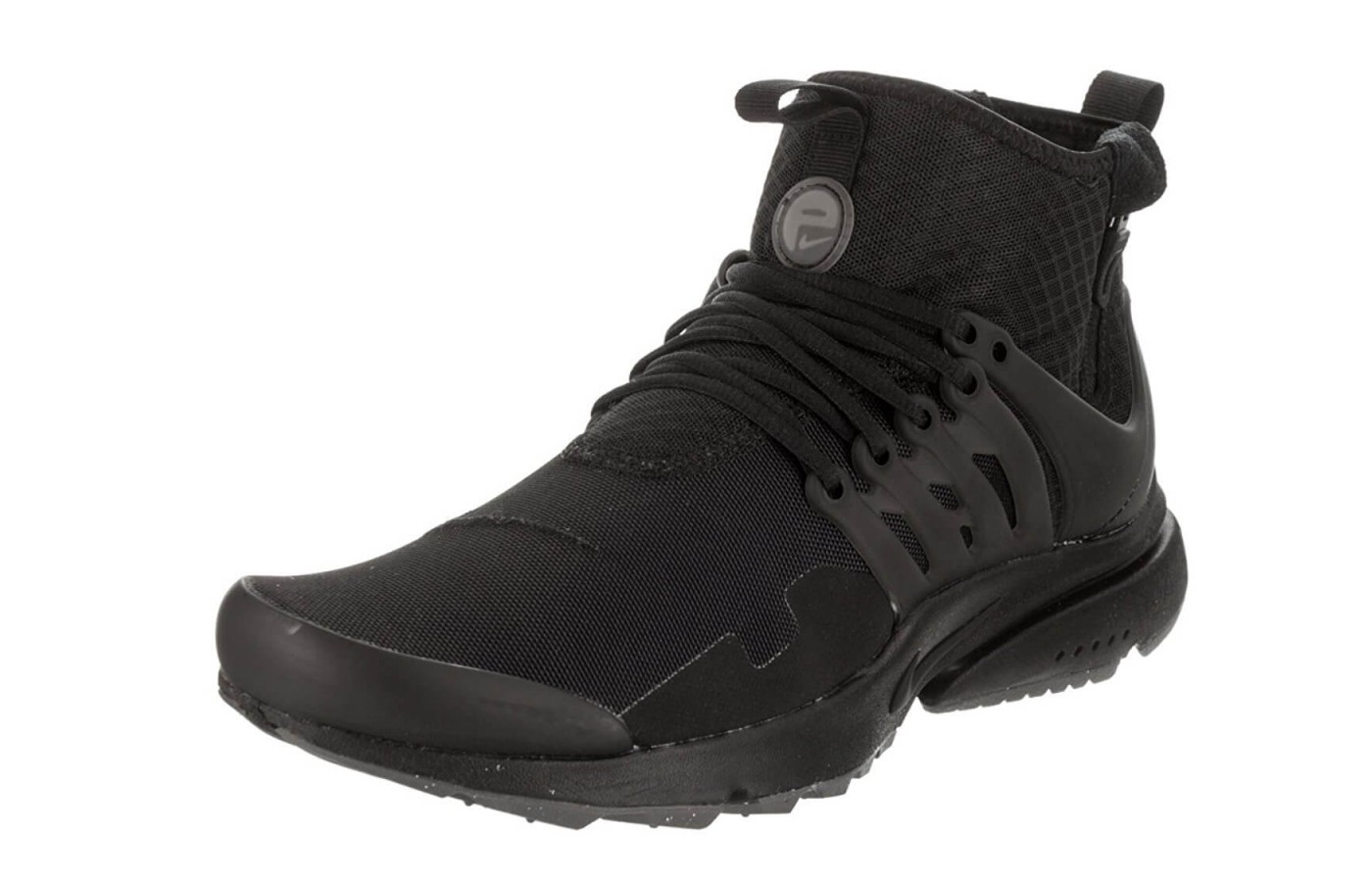 innovative design 3faa0 63480 An angled view of the Nike Air Presto Mid Utility.