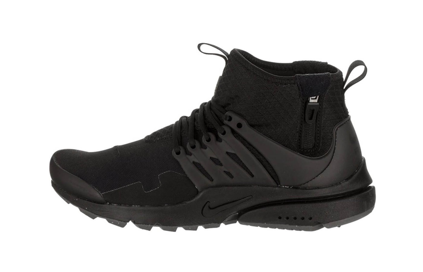 lowest price 7d9aa 3b17c A view of the lateral side of the Nike Air Presto Mid Utility.