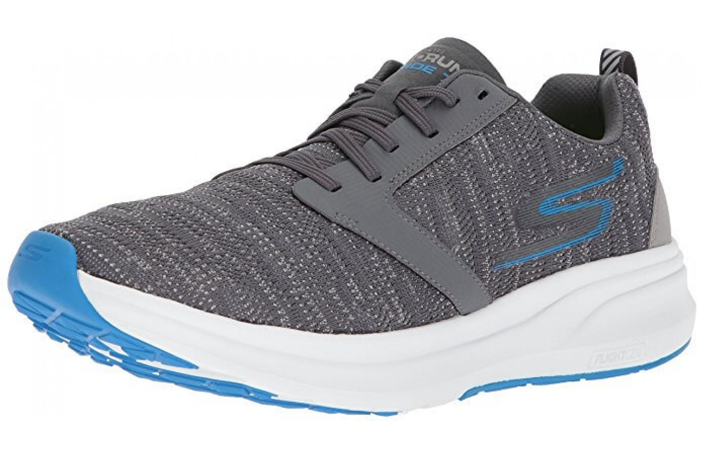 The Skechers GORun Ride 7 front angled perspective