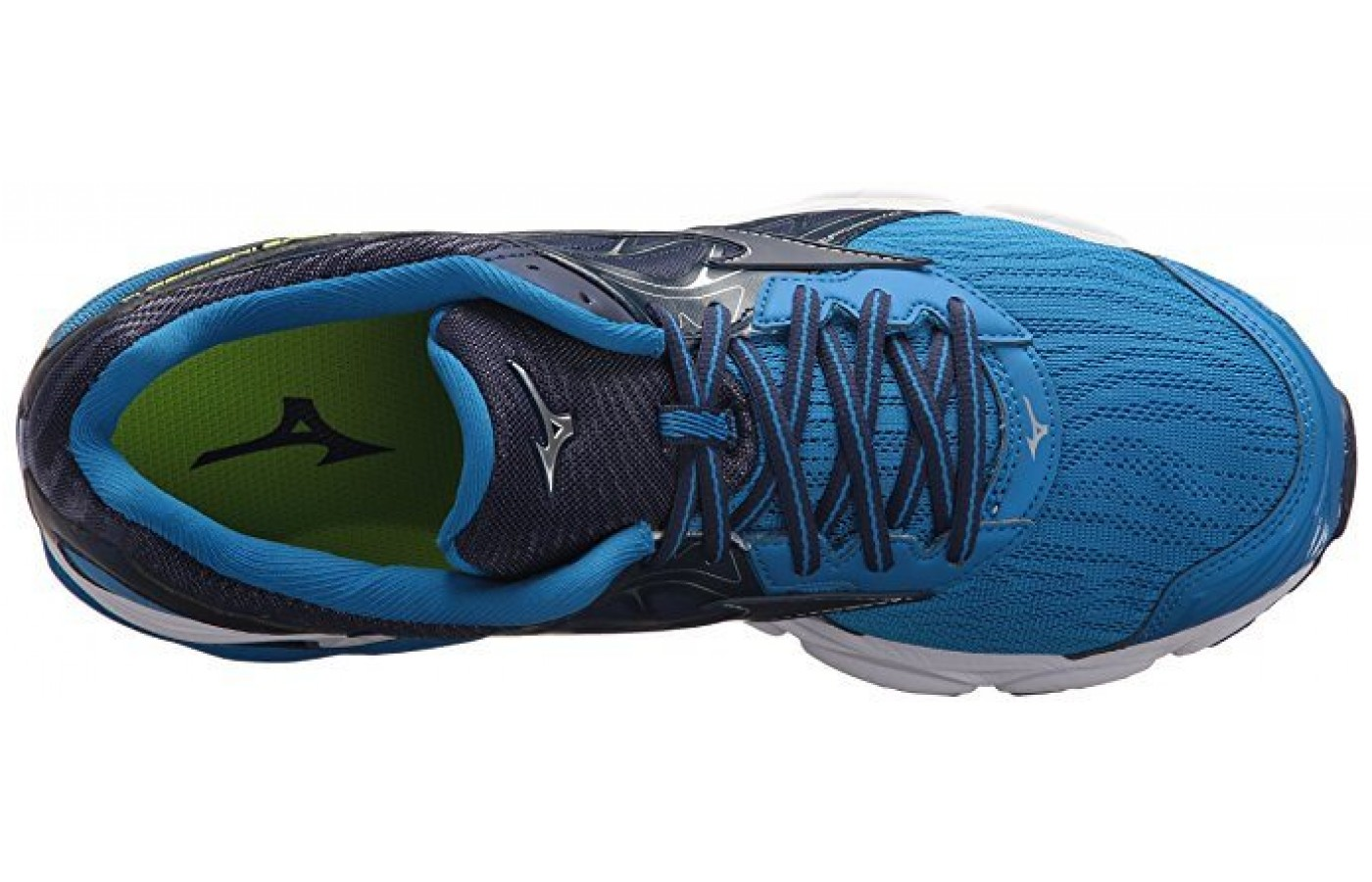 The Mizuno Wave Inspire 14 lacing system