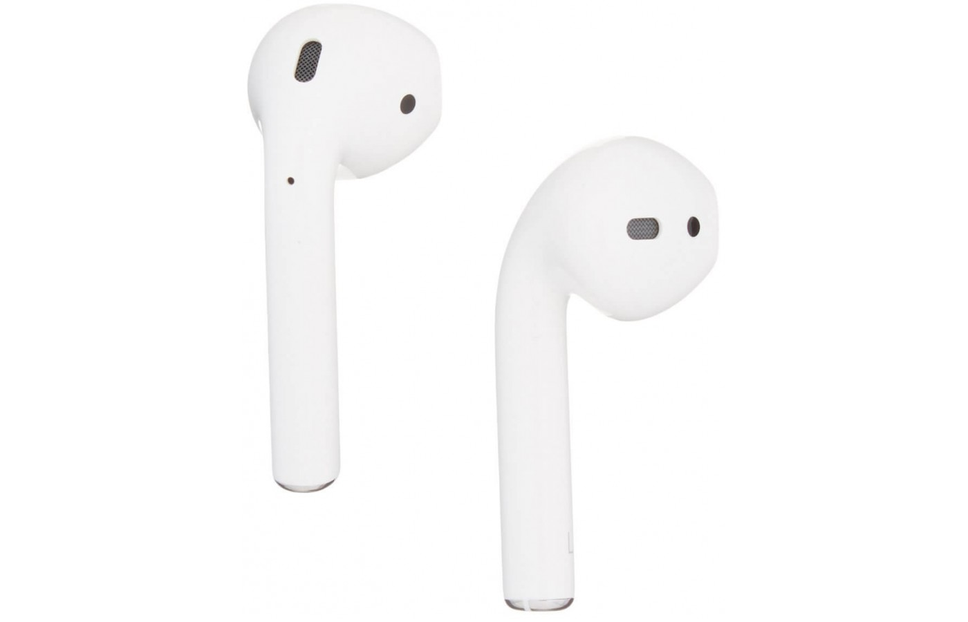 The Apple Air Pods feature a wireless design