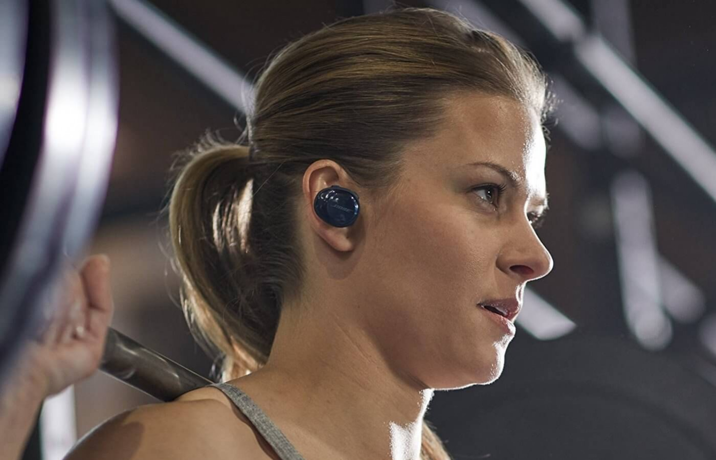 The Bose SoundSport Free headphones feature a true wireless design
