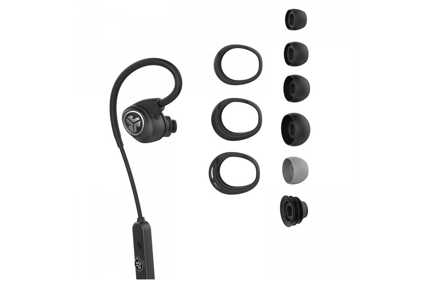 The JLab Epic Sport headphones have 8mm drivers