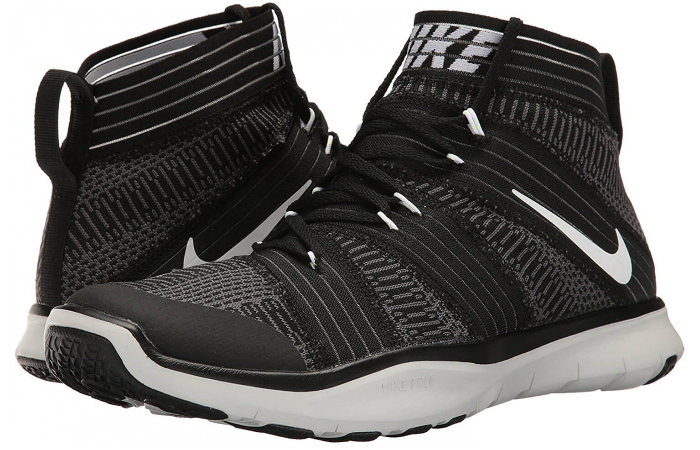 The Nike Free Train Virtue's outsole is made of rubber