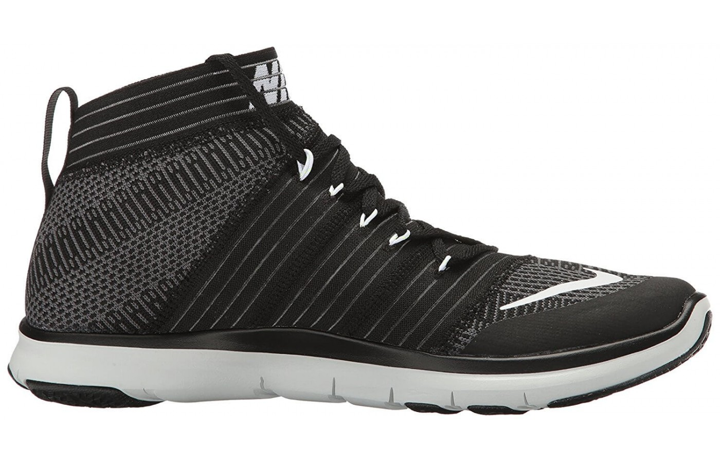 The Nike Free Train Virtue features a wide stable outsole design